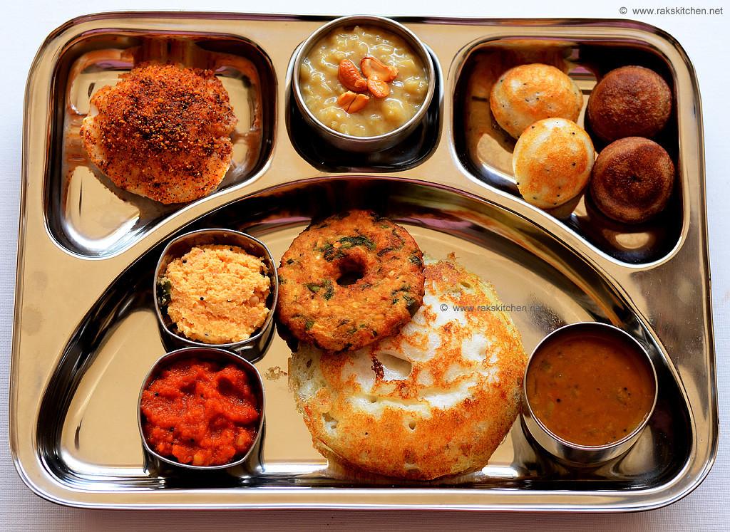 Indian Brunch Recipes  South Indian brunch menu ideas Raks Kitchen