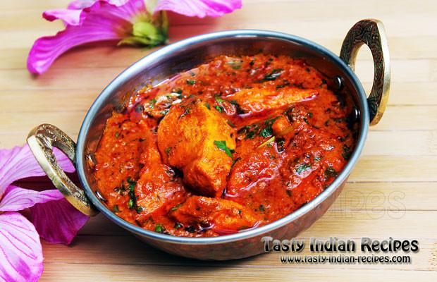 Indian Chicken Recipes  Chicken Masala in Red Spicy Gravy Recipe