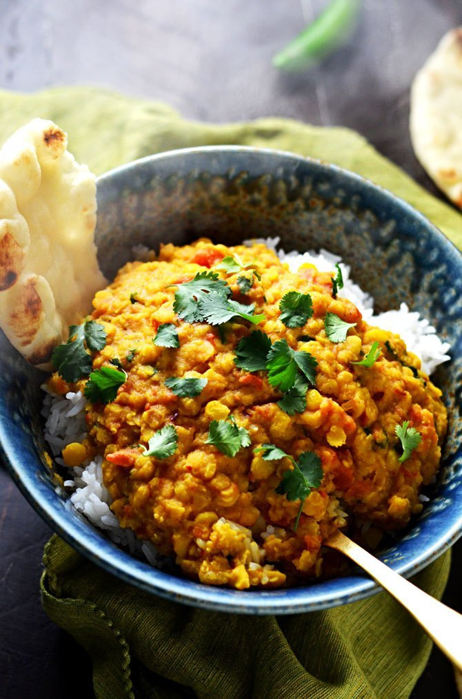 Indian Crock Pot Recipes  Slow Cooker Indian Spiced Lentils Host The Toast