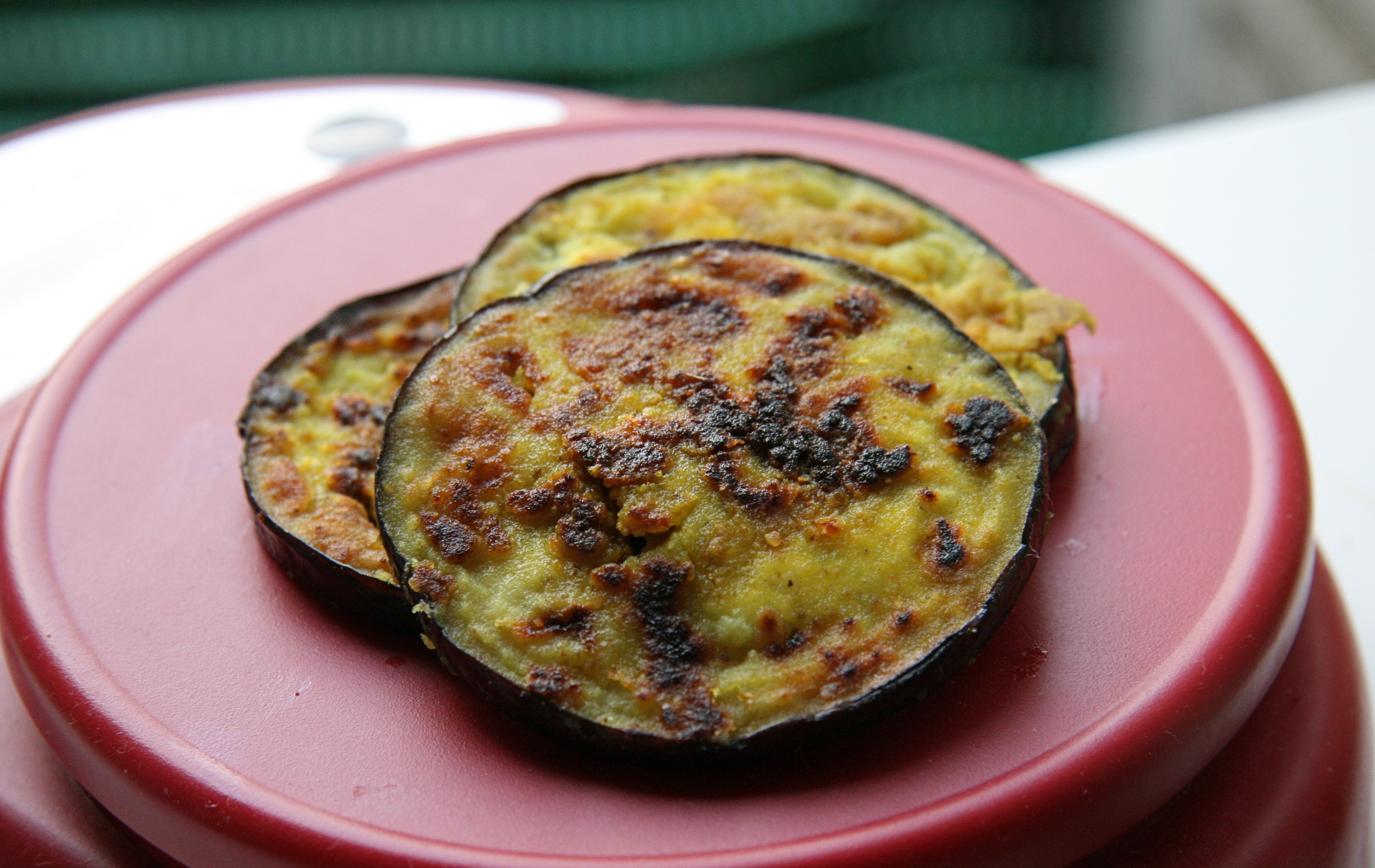 Indian Eggplant Recipes  Eggplant Papeta Indian spiced eggplant appetizer
