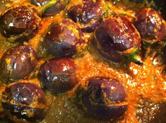 Indian Eggplant Recipes  How to Cook Indian Stuffed Eggplant Guthi Vankaya Recipe