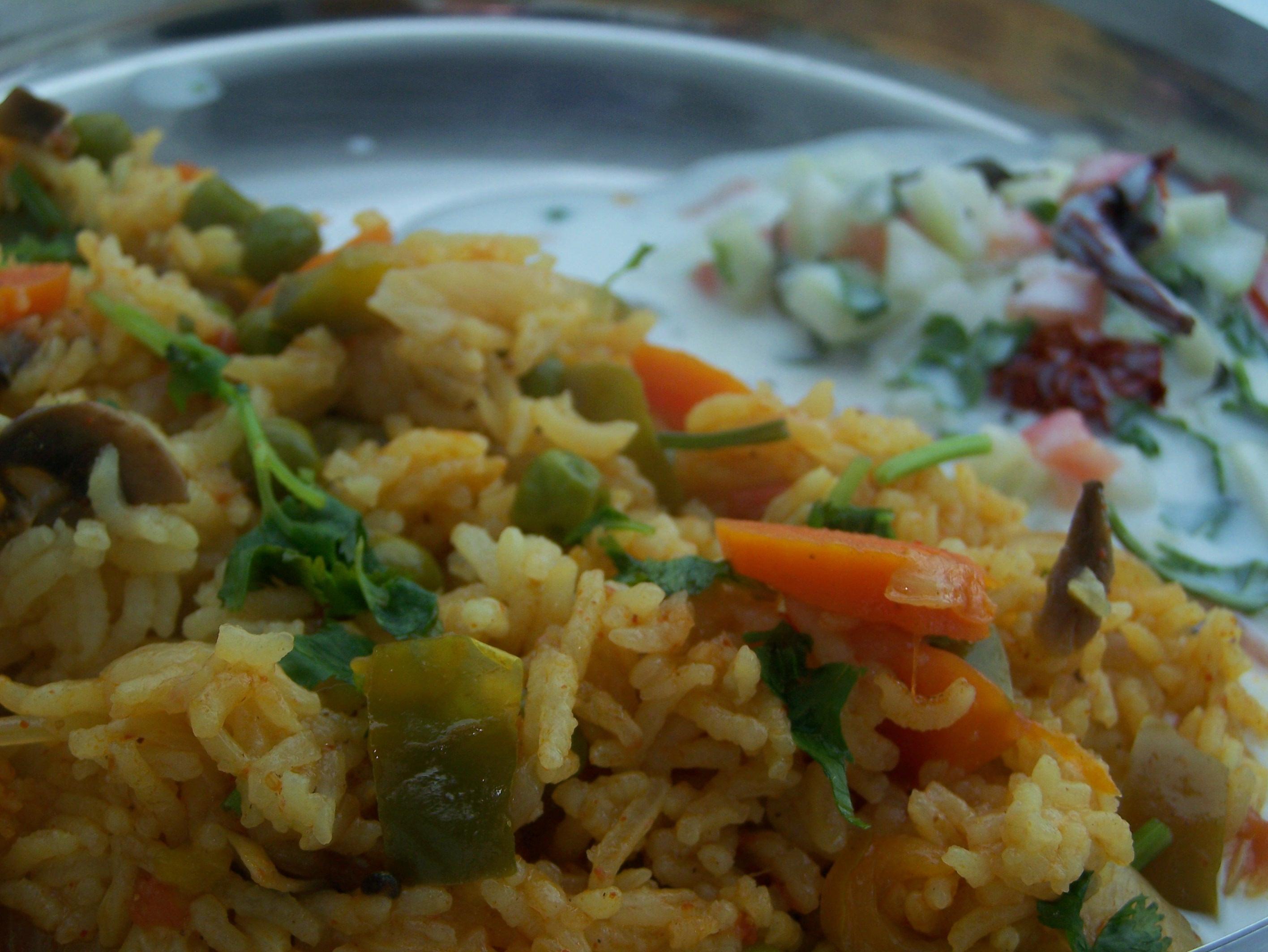 Indian Food Recipes Vegetarian  Indian Food Recipes Ve arian Pulao