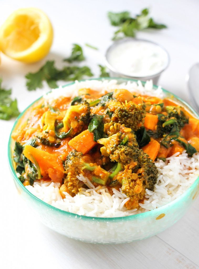 Indian Food Recipes Vegetarian  The Best Ve able Curry Ever Layers of Happiness