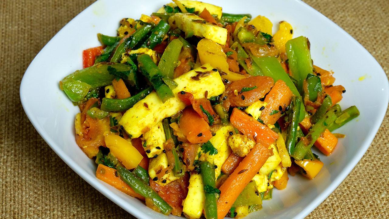 Indian Food Recipes Vegetarian  Paneer Jalfrezi Manjula s Kitchen Indian Ve arian