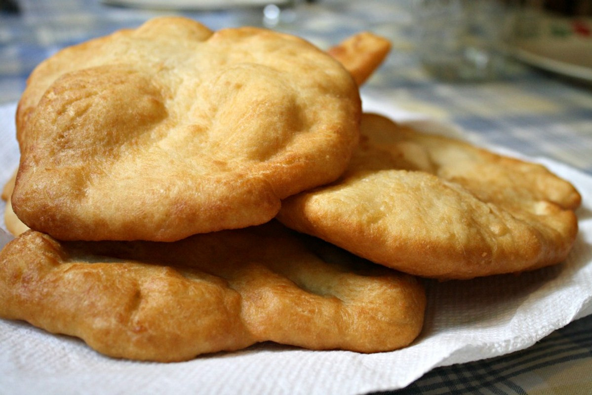 Indian Fry Bread Recipe  Indian fry bread en Kung Food