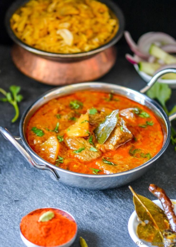 Indian Lamb Recipes  Lamb Rogan Josh Indian Kashmiri Mutton Lamb Curry