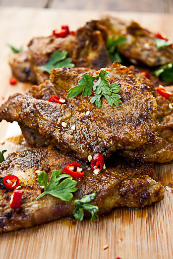 Indian Lamb Recipes  spicy indian grilled lamb chops