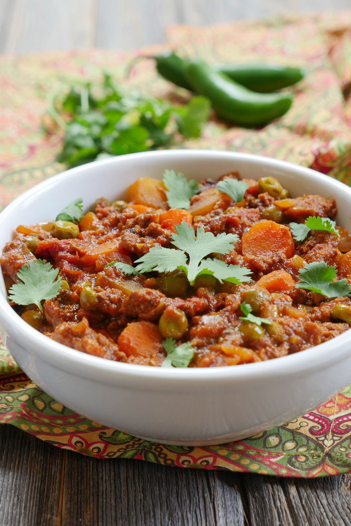 Indian Lamb Recipes  Indian Ground Lamb Curry My Heart Beets
