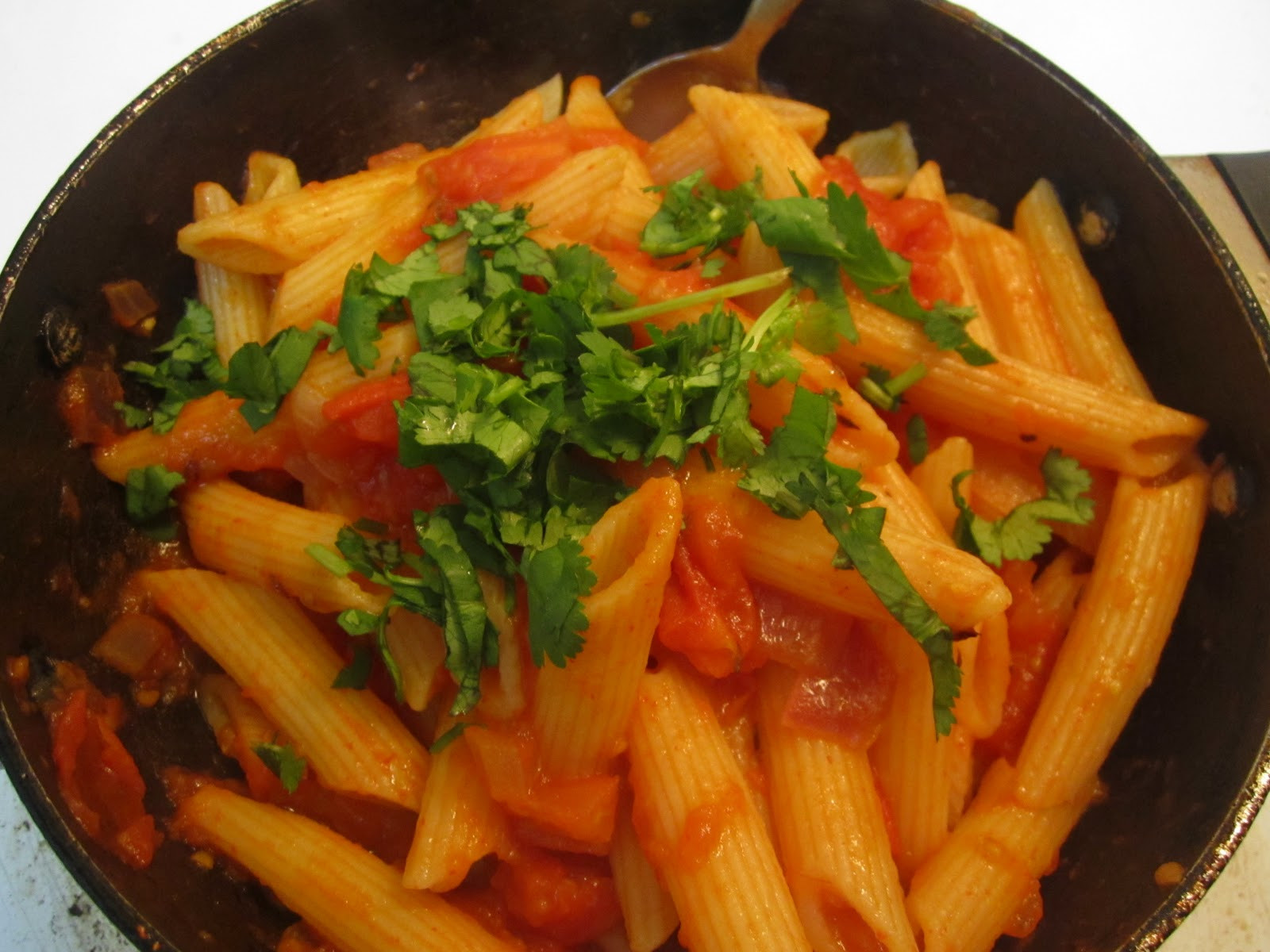 Indian Pasta Recipes  Indian Cooking Recipes Tomato Pasta Indian Style