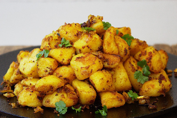 Indian Potato Recipes  Easy Bombay Potatoes Tales From The Kitchen Shed