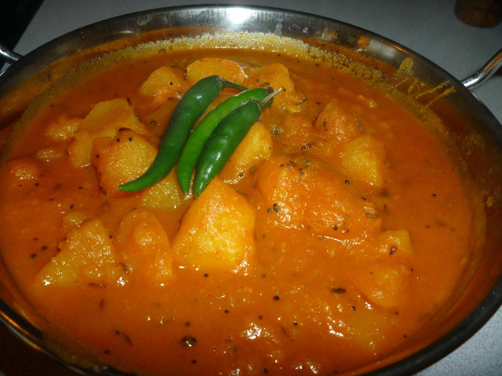 Indian Potato Recipes  Easy peasy potato curry