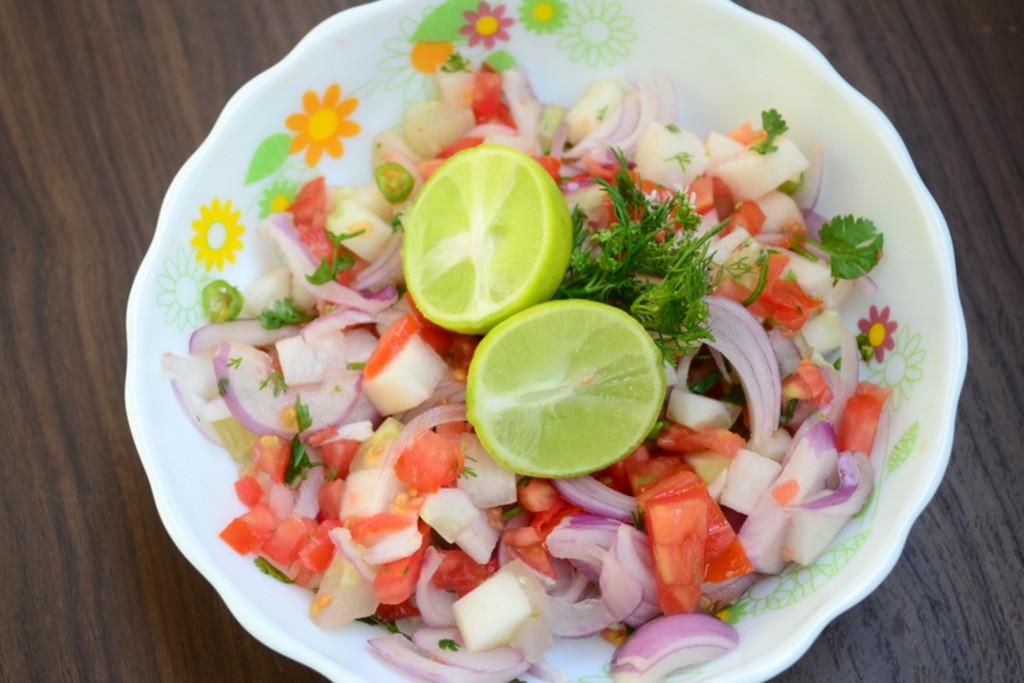 Indian Salad Recipes  Kachumber Salad Recipe Indian Ve able Salad
