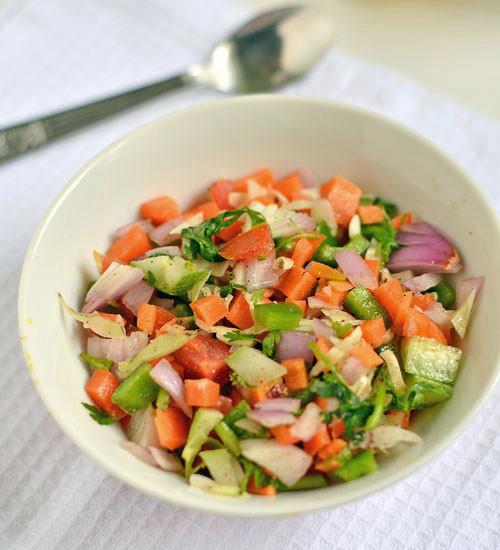Indian Salad Recipes  green salad recipes indian