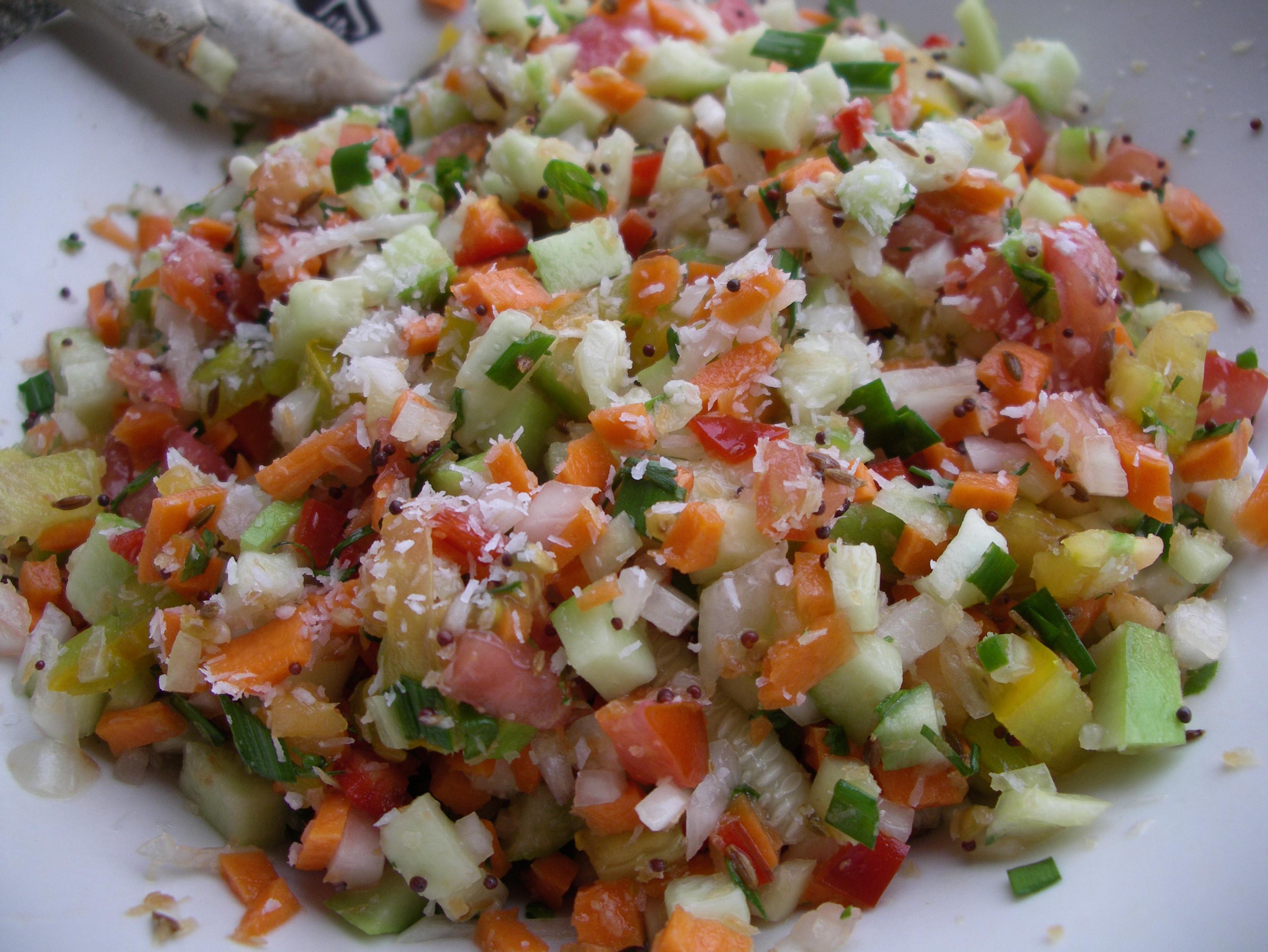 Indian Salad Recipes  Indian Relish