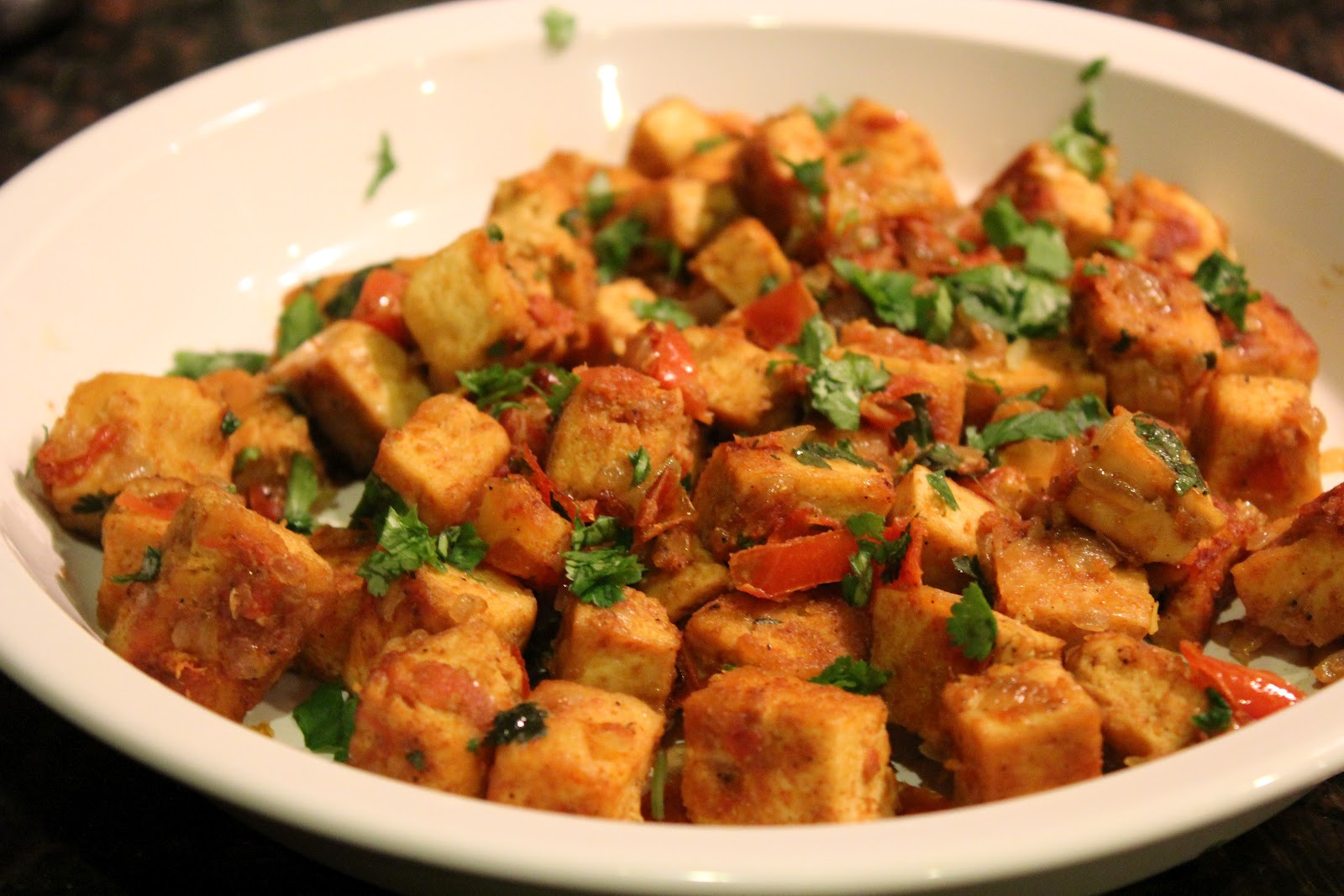 Indian Tofu Recipes  Indian Curried Tofu Recipe on Honest Cooking