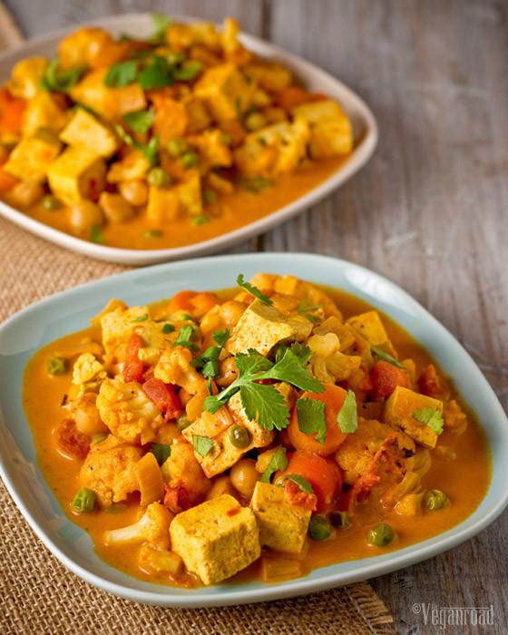 Indian Tofu Recipes  tofu indian curry