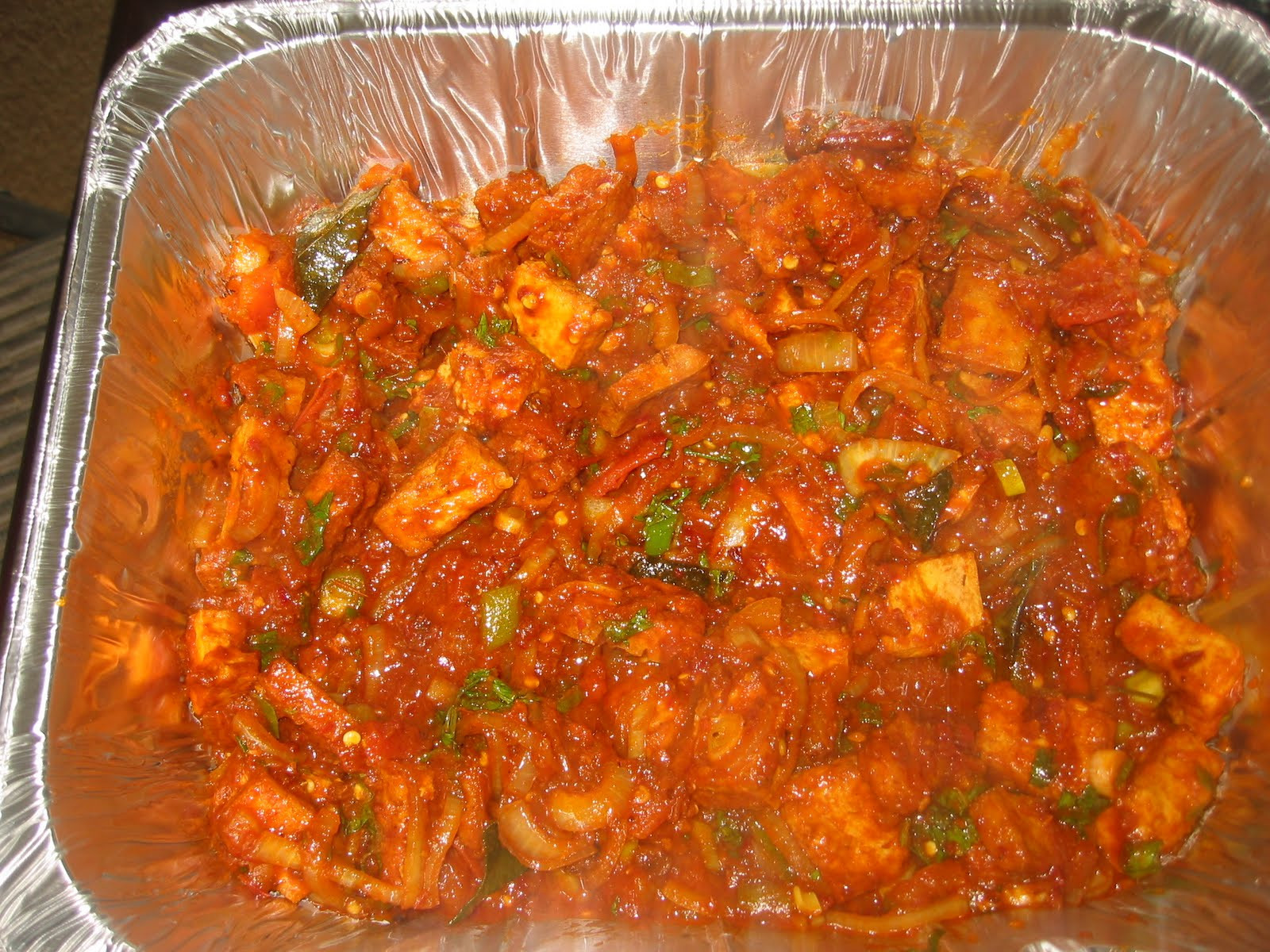 Indian Tofu Recipes  Spicy Tofu Sambal in South Indian Style