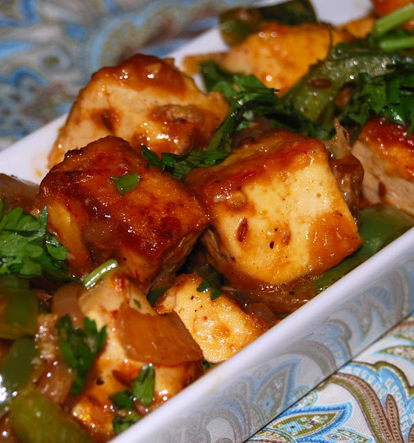 Indian Tofu Recipes  Chilli Tofu Holy Cow Vegan Recipes