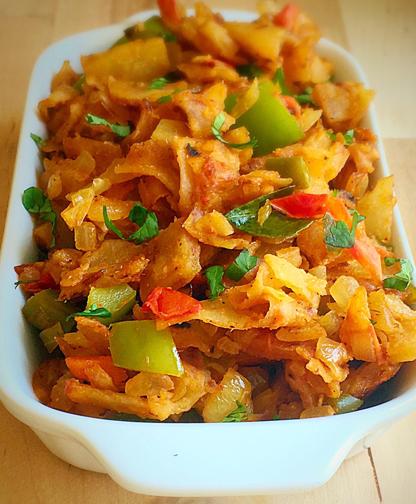 Indian Vegetarian Dinner Recipes  Veg kothu parotta recipe How to make ve able kothu
