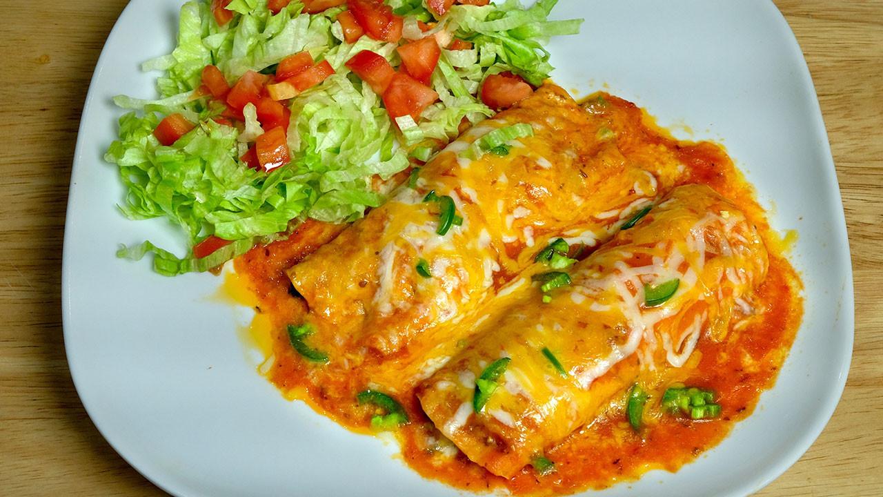 Indian Vegetarian Dinner Recipes  Ve arian Enchiladas Manjula s Kitchen Indian