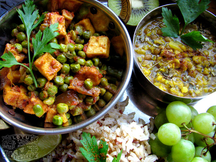 Indian Vegetarian Dinner Recipes  Indian Vegan recipes The Lotus and the Artichoke