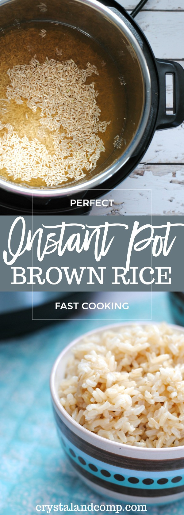 Instant Brown Rice  How to Make Brown Rice in the Instant Pot