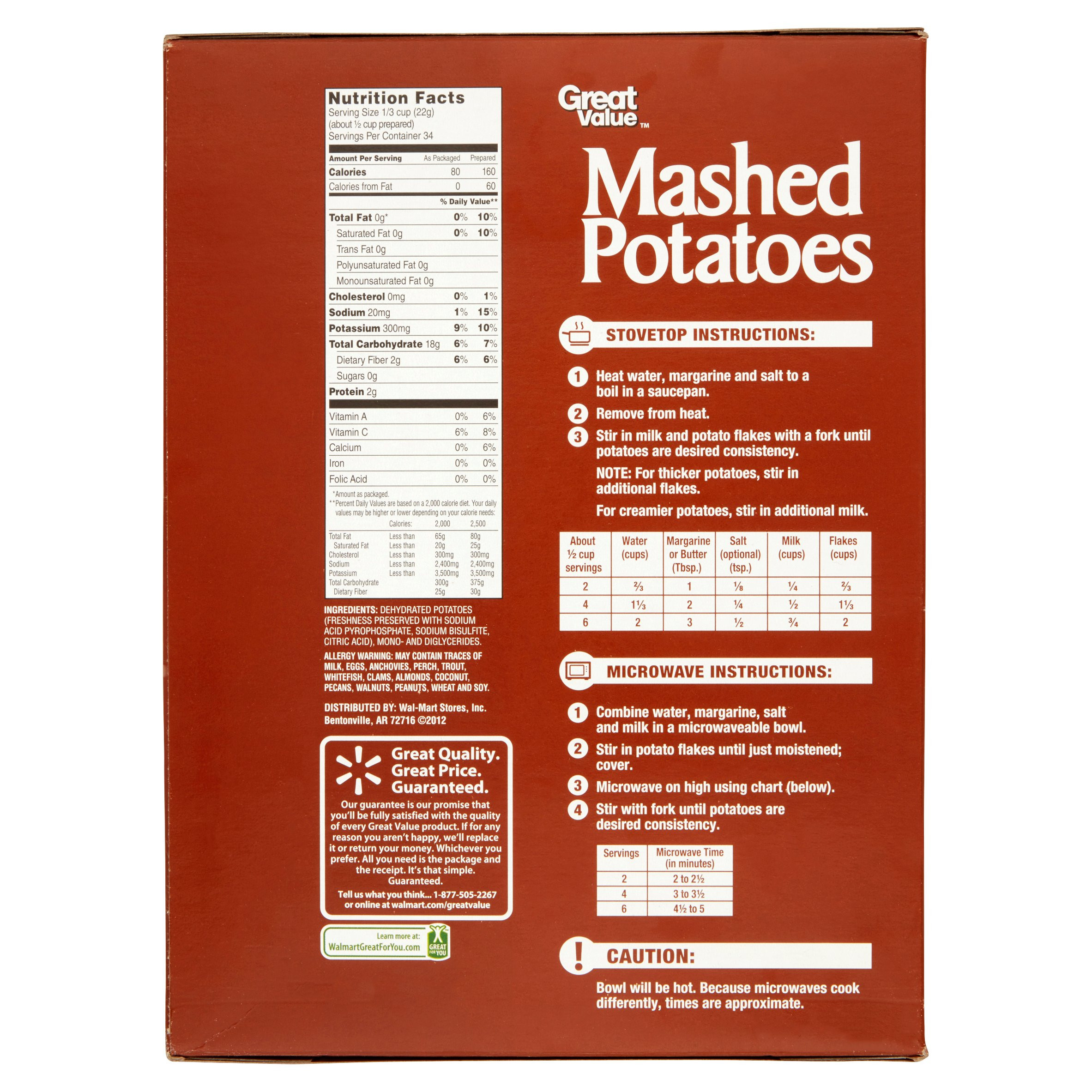 Instant Mashed Potatoes Directions  instant mashed potatoes directions