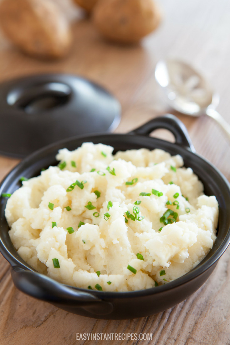 Instant Mashed Potatoes Recipe  Easy Instant Pot Mashed Potatoes Recipe