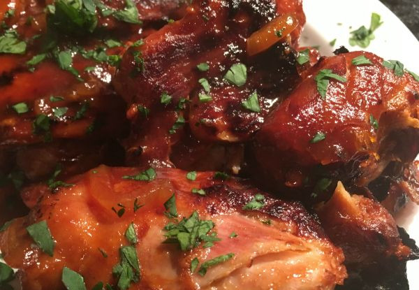 Instant Pot Bbq Chicken Thighs  17 Best images about Paleo Instant Pot Recipes on