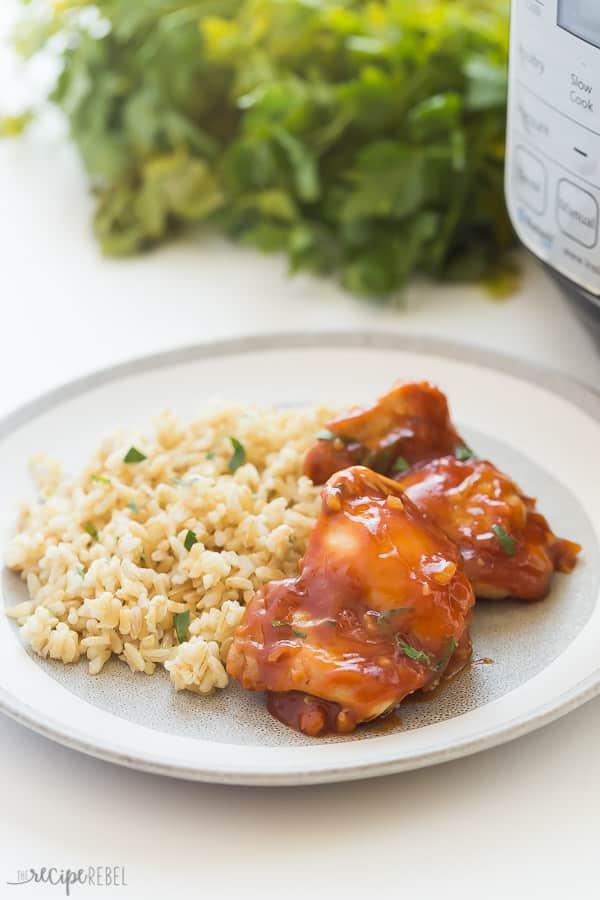Instant Pot Bbq Chicken Thighs  BBQ Instant Pot Chicken Thighs from FRESH or FROZEN