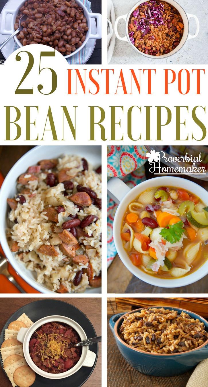 Instant Pot Bean Recipes  25 Instant Pot Bean Recipes Proverbial Homemaker