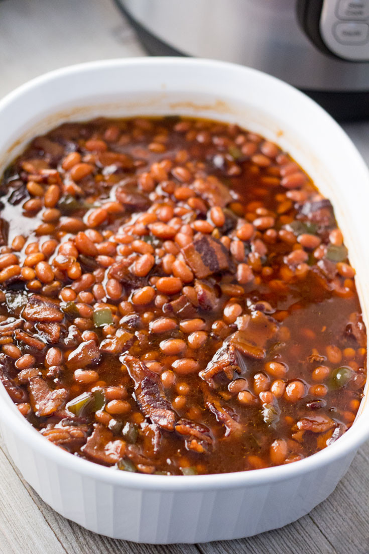 Instant Pot Bean Recipes  The BEST Instant Pot or Pressure Cooker Baked Beans