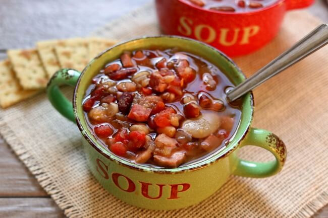 Instant Pot Bean Recipes  Instant Pot 15 Bean Soup 365 Days of Slow Cooking and