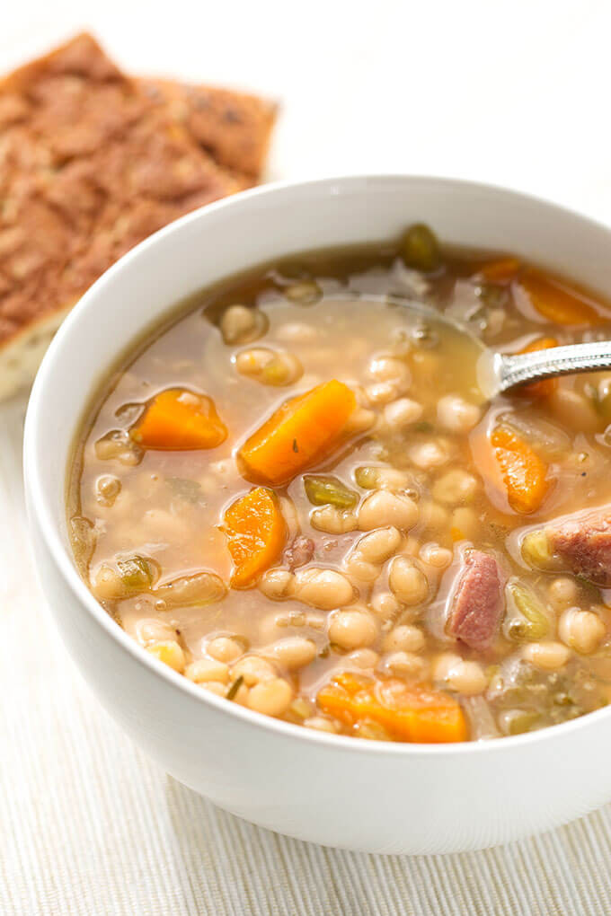Instant Pot Bean Recipes  Instant Pot Ham Hock and Bean Soup