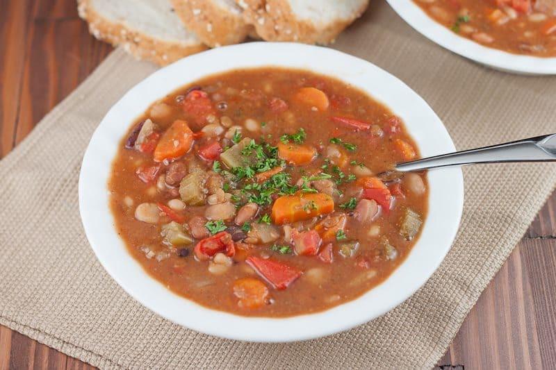 Instant Pot Bean Recipes  Instant Pot 15 Bean Soup Recipe
