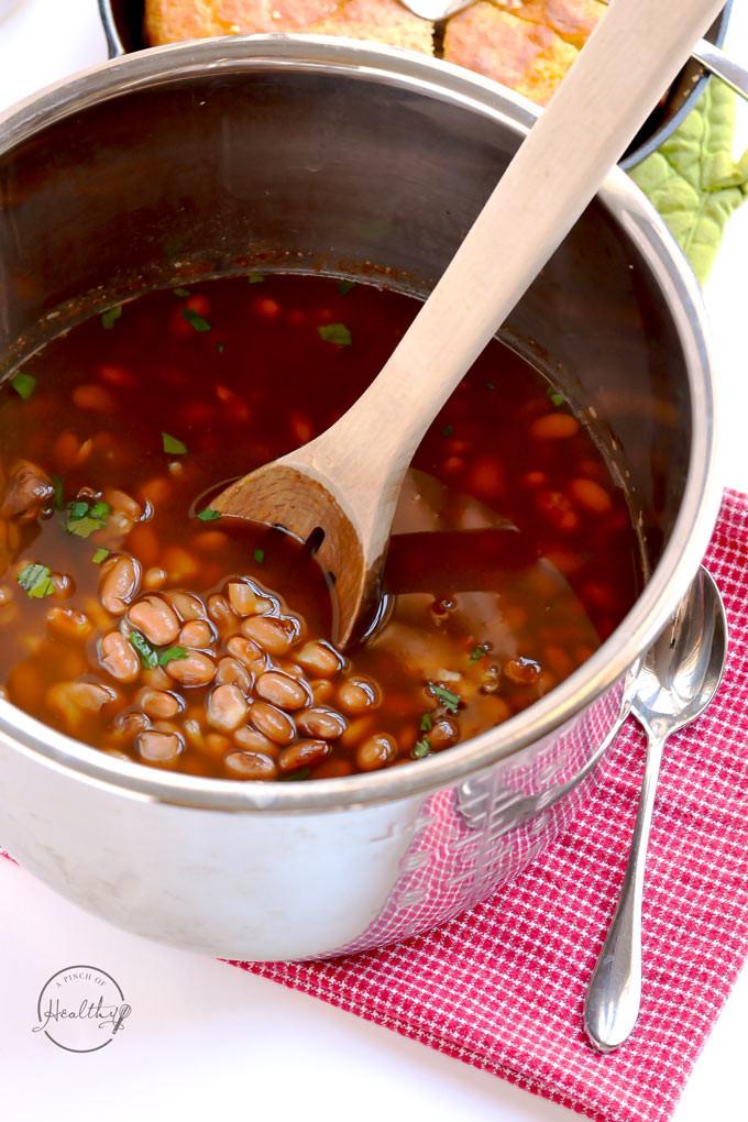 Instant Pot Bean Recipes  Instant Pot Pinto Beans No Pre Soaking A Pinch of Healthy