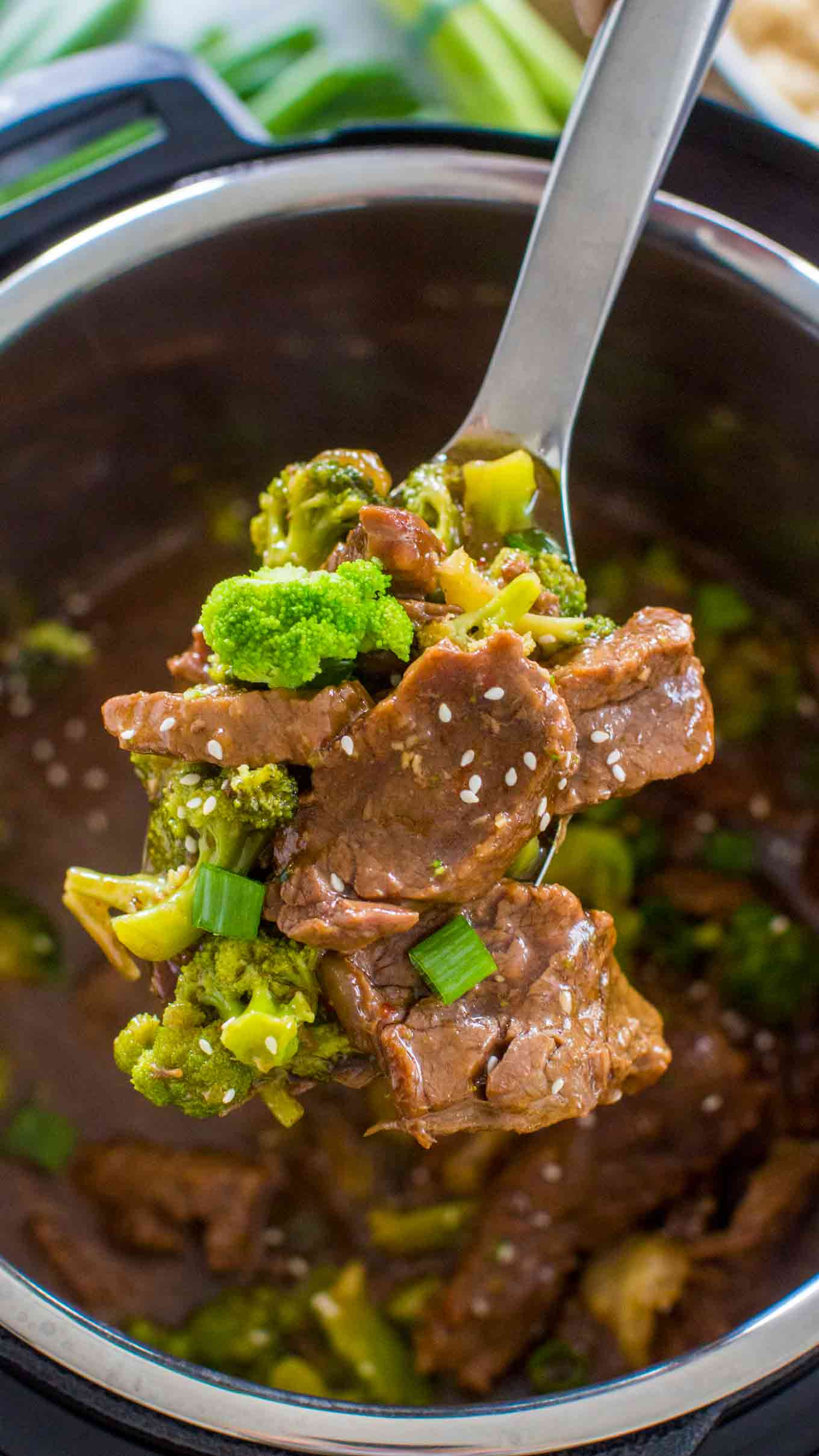 Instant Pot Beef And Broccoli  Instant Pot Beef and Broccoli Sweet and Savory Meals