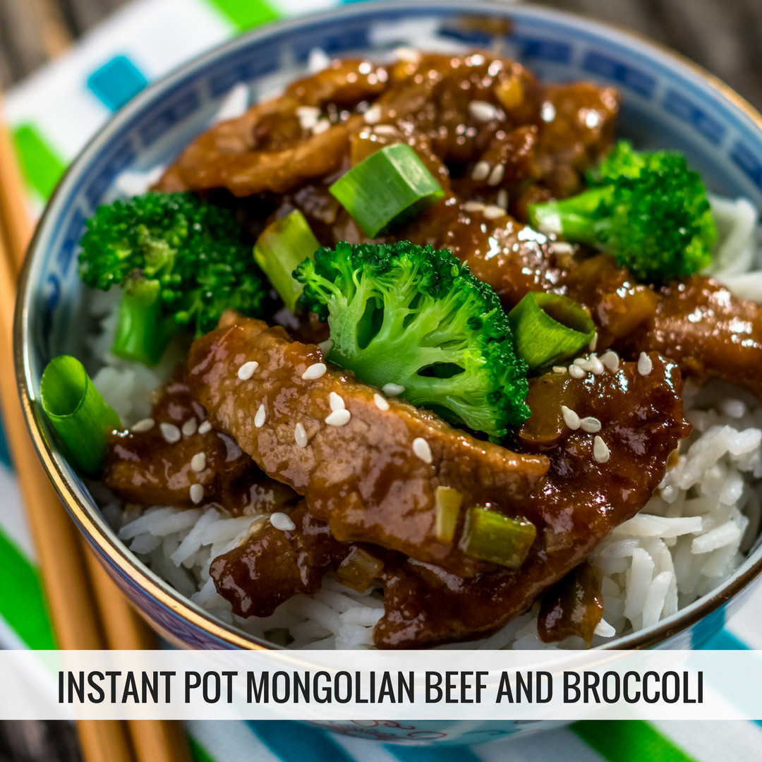 Instant Pot Beef And Broccoli  Instant Pot Mongolian Beef and Broccoli