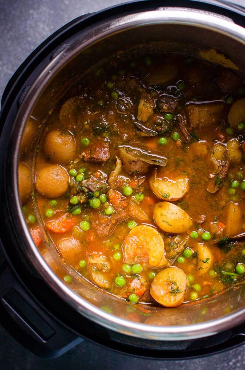 Instant Pot Beef Stew  Instant Pot Beef Stew iFOODreal Healthy Family Recipes