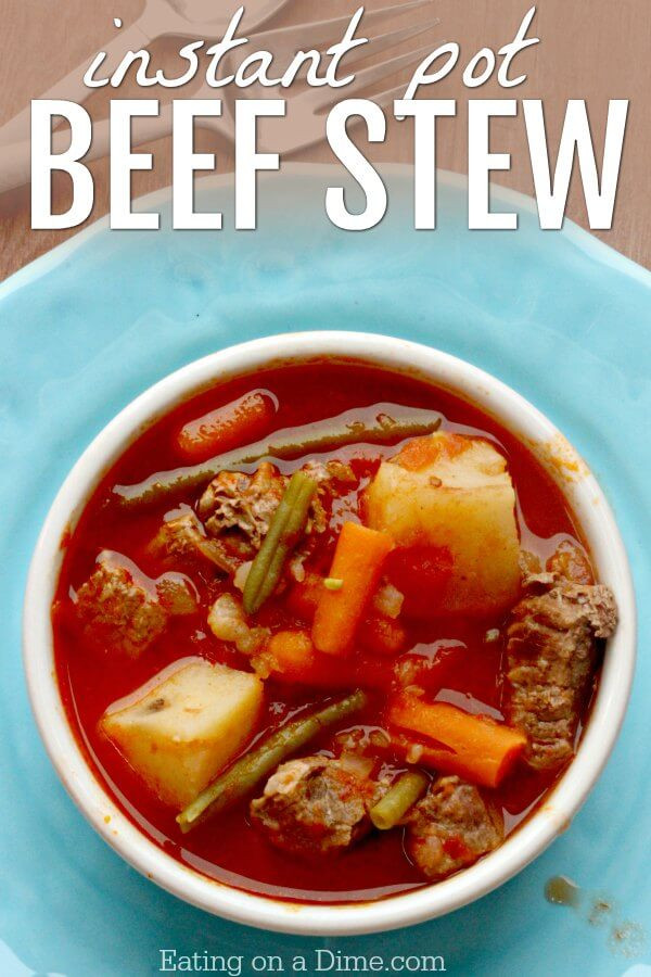 Instant Pot Beef Stew Recipes  Instant Pot Beef Stew Recipe Beef Stew Pressure Cooker