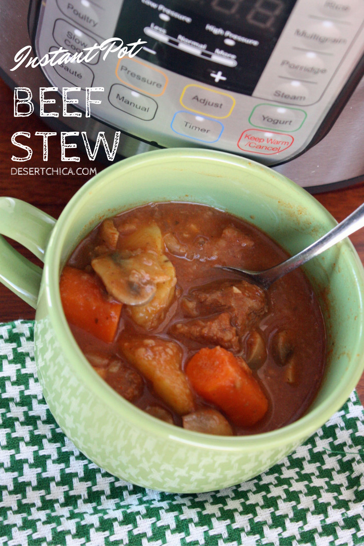 Instant Pot Beef Stew Recipes  Easy Instant Pot Beef Stew