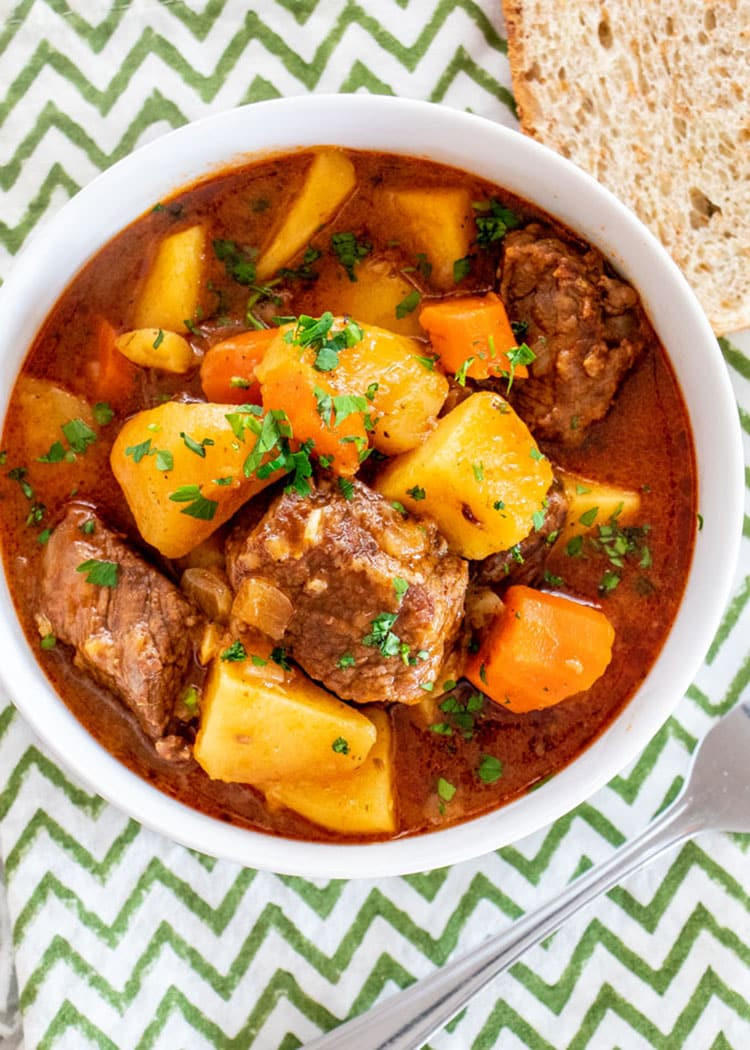Instant Pot Beef Stew  Instant Pot Beef Stew Craving Home Cooked