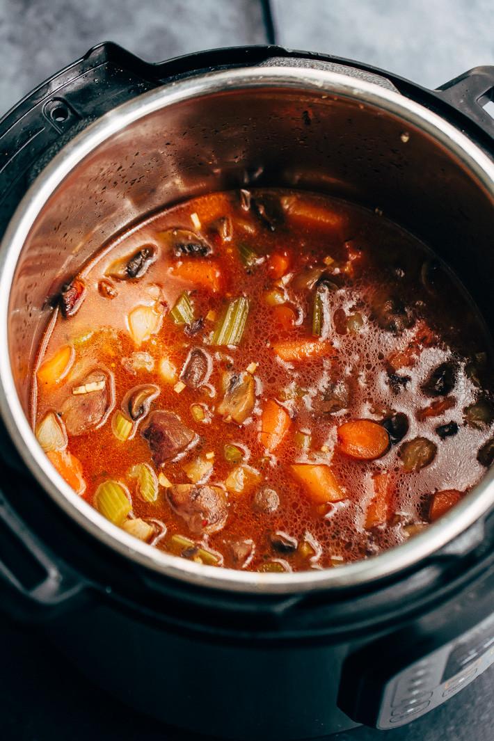 Instant Pot Beef Stew  Irresistible Instant Pot Beef Stew Recipe
