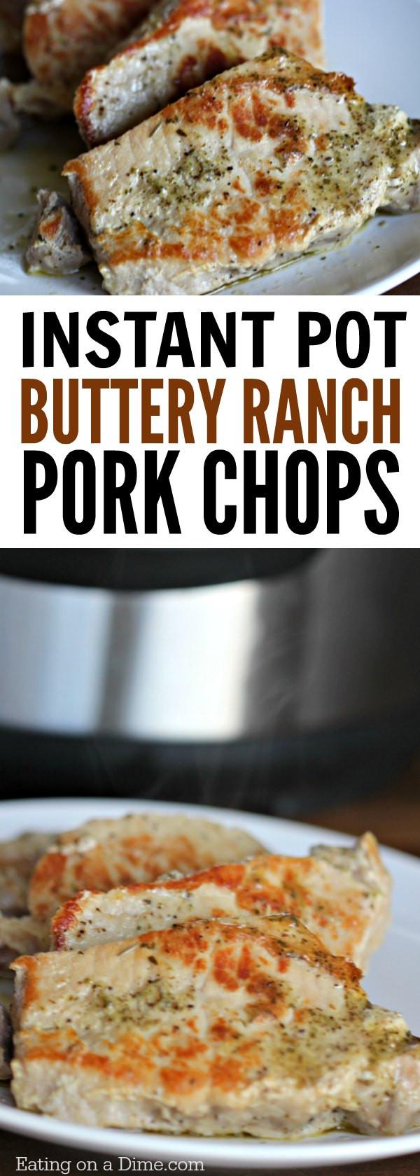 Instant Pot Boneless Pork Chops  Instant Pot Boneless Pork Chops Recipe Eating on a Dime