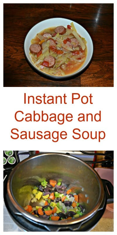 Instant Pot Cabbage And Potatoes  Instant Pot Sausage and Cabbage Soup Hezzi D s Books and