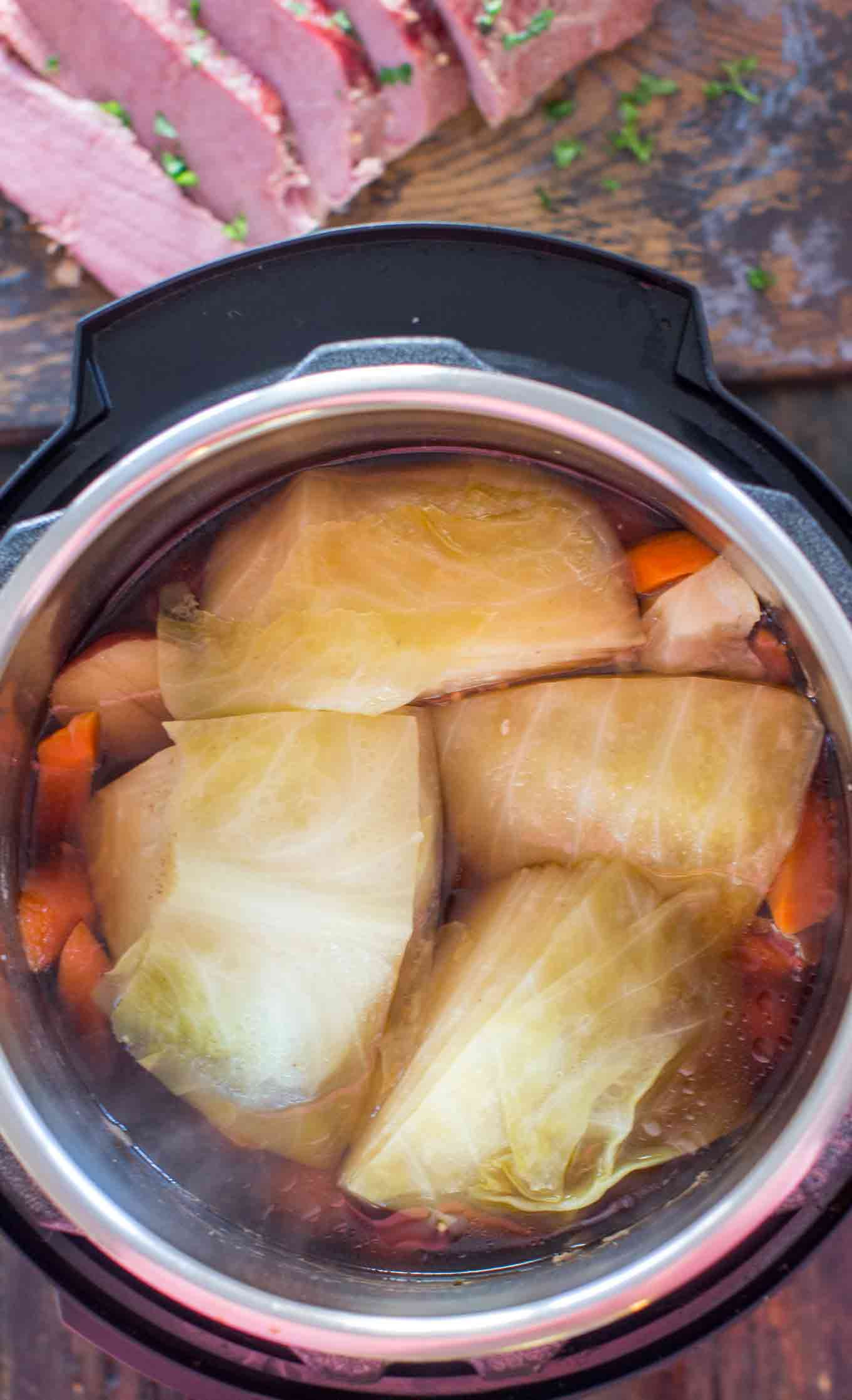 Instant Pot Cabbage And Potatoes  Instant Pot Corned Beef and Cabbage Sweet and Savory Meals