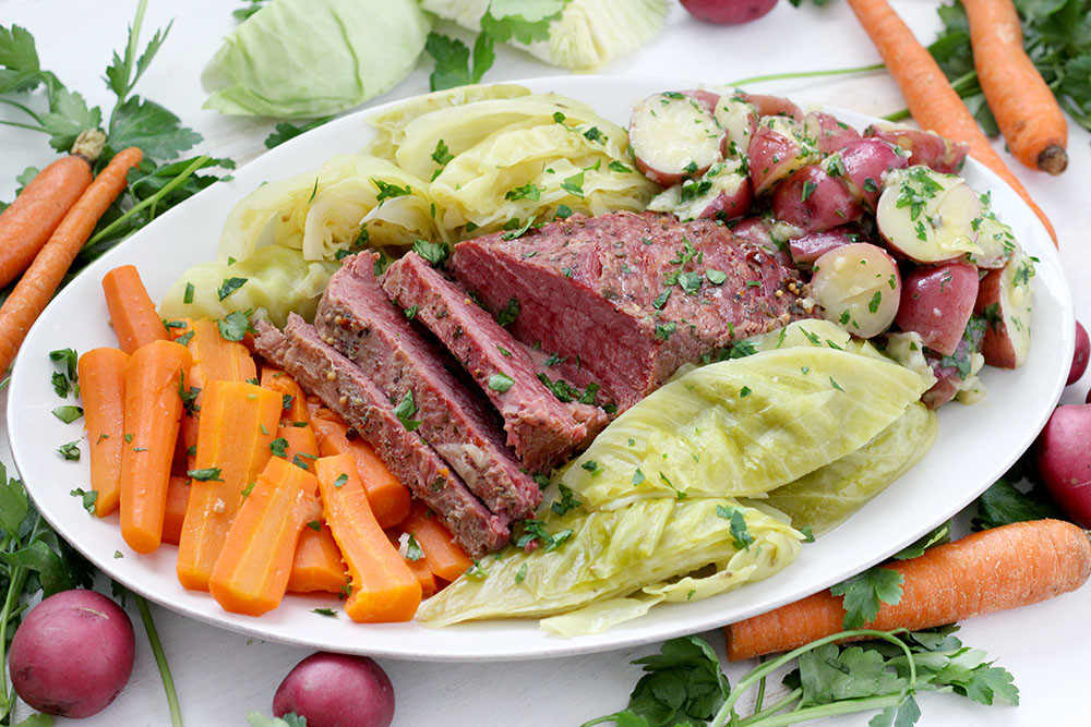 Instant Pot Cabbage And Potatoes  Instant Pot Corned Beef with Cabbage Carrots and
