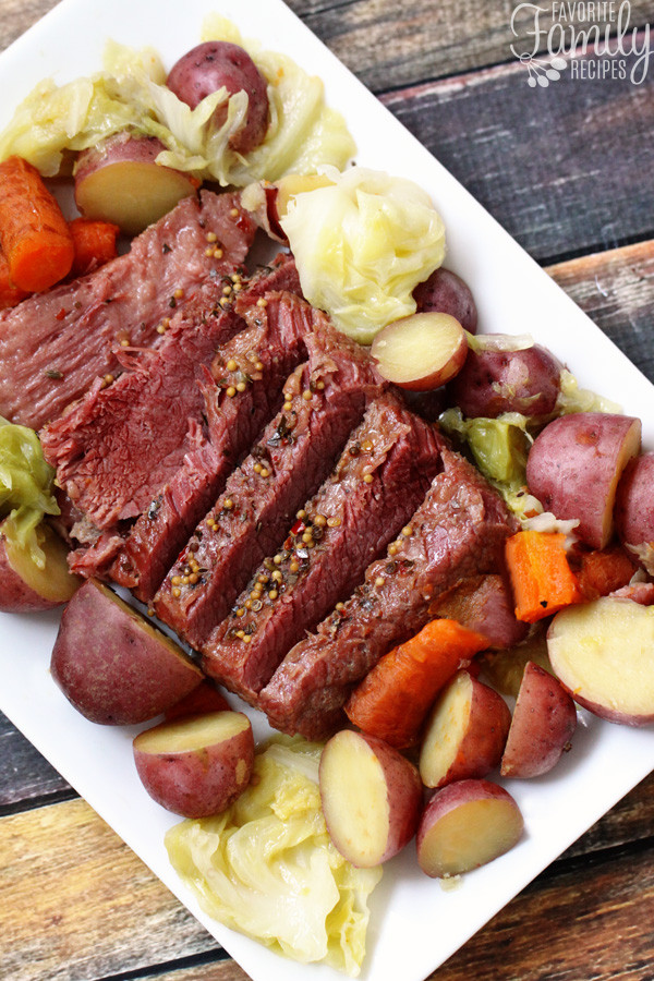 Instant Pot Cabbage And Potatoes  Instant Pot Corned Beef and Cabbage Favorite Family Recipes