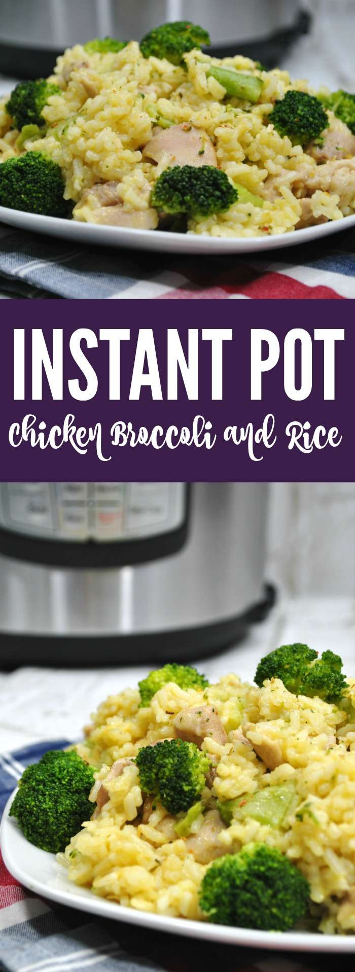 Instant Pot Chicken And Broccoli  Instant Pot Chicken Broccoli Rice Recipe Passion for