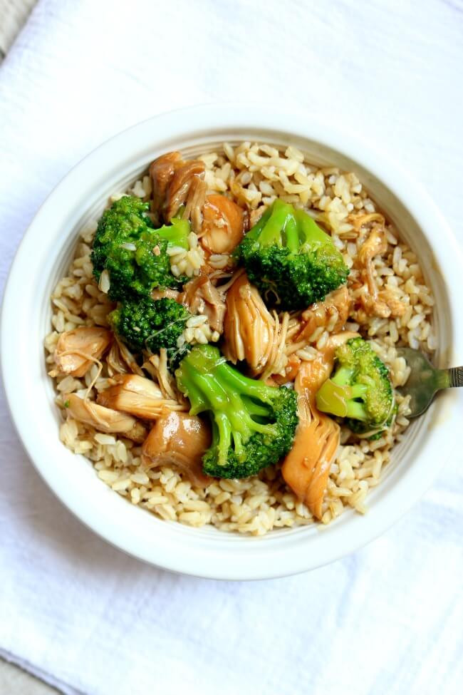 Instant Pot Chicken And Broccoli  Instant Pot Chicken Broccoli Rice Bowl 365 Days of Slow